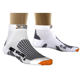 X-Socks Nordic Walking - Calcetines Running Hombre - Short blanco